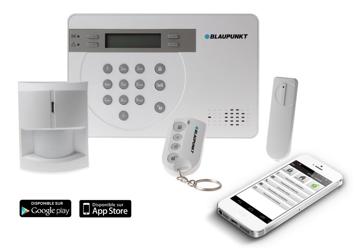 Alarme en ligne - kit alarme